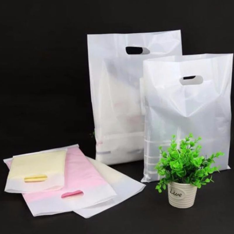 Clothing portable plastic bag Plastic shopping bags