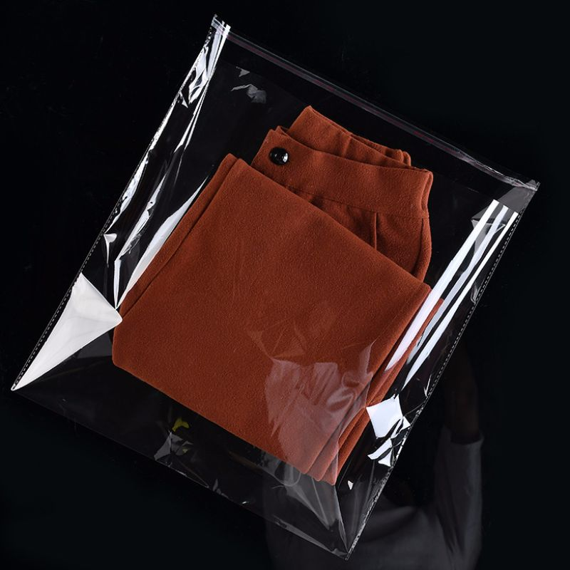 Opp high transparent environmental protection clothing plastic packaging bag